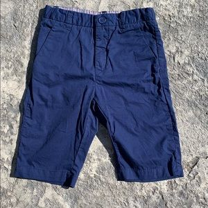 H&M organic cotton navy shorts size 5/6